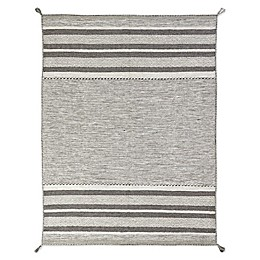 Andes Canyon Handcrafted Rug in Granite