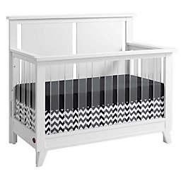 Oxford Baby Holland 4-in-1 Convertible Crib in Cloud Grey