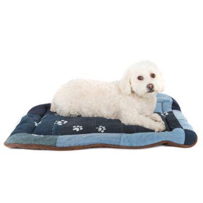monogram pet bed