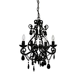 Tadpoles™ by Sleeping Partners 4-Bulb Mini Chandelier in Black Onyx