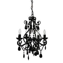 Tadpoles™ by Sleeping Partners 4-Bulb Mini Chandelier in Black Onyx