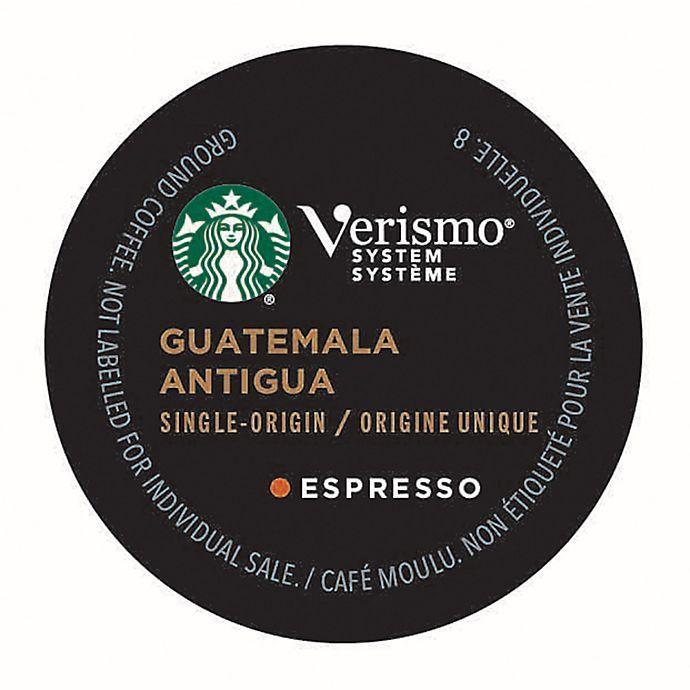Alternate image 1 for Starbucks® Verismo® 12-Count Guatemala Antigua Espresso Pods