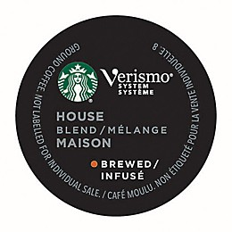 Starbucks® Verismo® House Blend Brewed Coffee Pods 12-Count