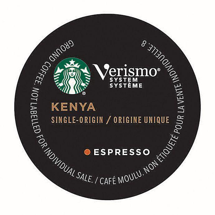 Alternate image 1 for Starbucks® Verismo® 12-Count Kenya Single Origin Espresso Pods