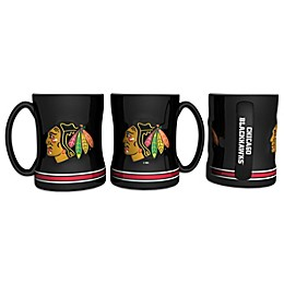 NHL Chicago Blackhawks Sculpted Relief Mug