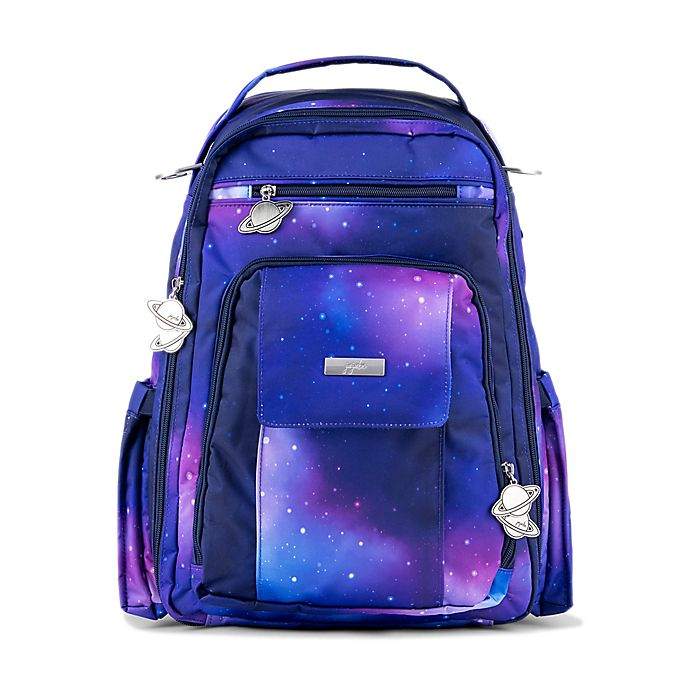 Alternate image 1 for Ju-Ju-Be® Be Right Back Galaxy Diaper Backpack in Blue
