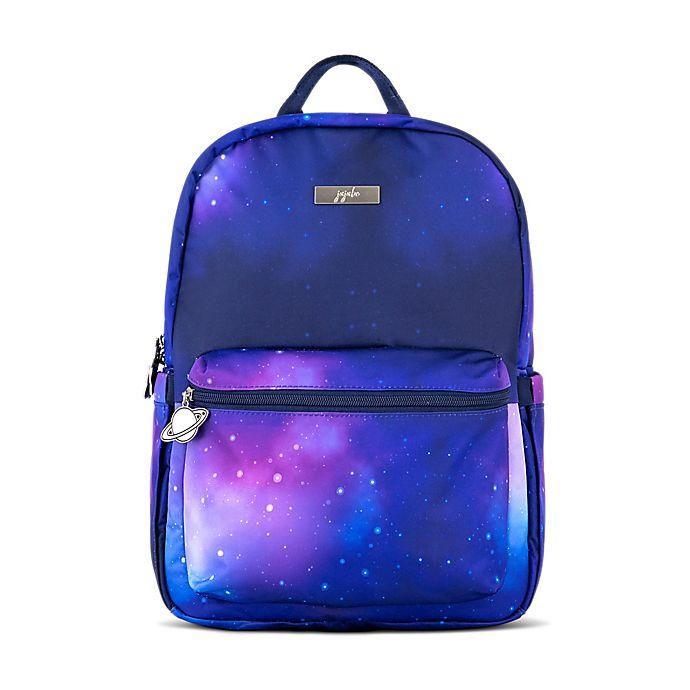 Alternate image 1 for Ju-Ju-Be® Midi Galaxy Diaper Backpack in Blue