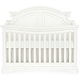 evolur Signature Belle 5-in-1 Convertible Crib in White