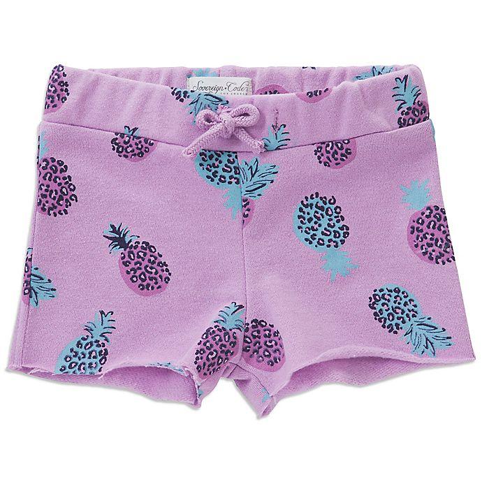 Alternate image 1 for Sovereign Code® Leopard Pineapple Short in Purple
