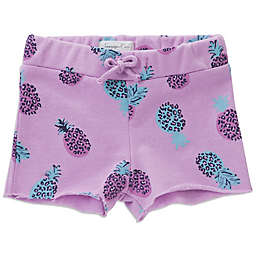 Sovereign Code® Leopard Pineapple Short in Purple