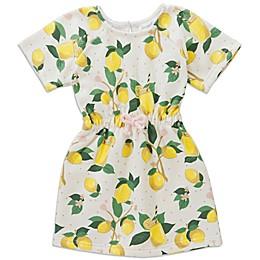 Sovereign Code Lemon Short Sleeve Dress in Yellow