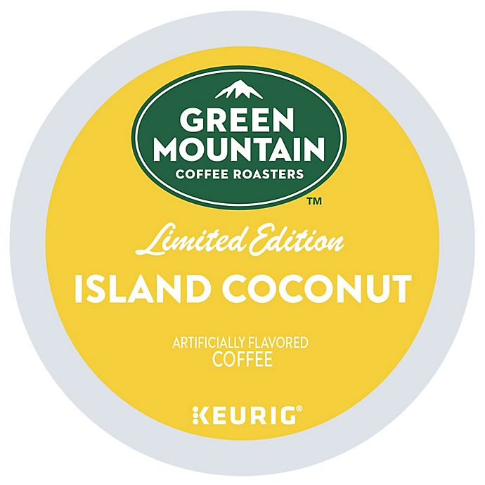 Alternate image 1 for Green Mountain Coffee® Island Coconut Coffee Keurig® K-Cup® Pods 18-Count