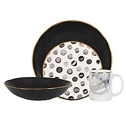 Olivia & Oliver® Harper Grey Mix and Match Dinnerware Collection