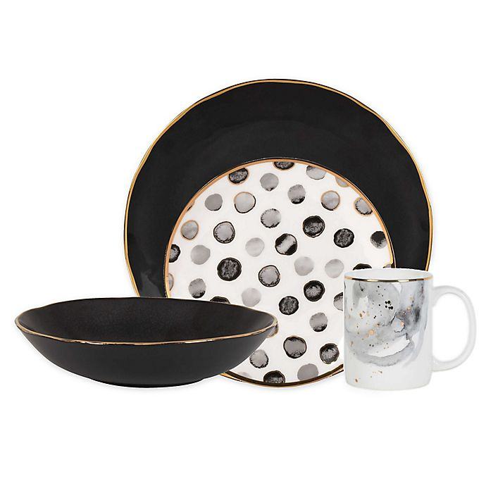 Alternate image 1 for Olivia & Oliver® Harper Grey Mix and Match Dinnerware Collection