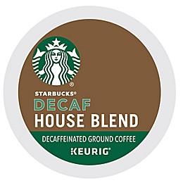 Starbucks® House Blend Decaf Coffee Keurig® K-Cup® Pods 16-Count