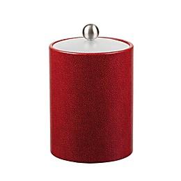 Kraftware™ Rocks Red Ice Bucket with Lid