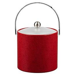 Kraftware™ Rocks Red 3 qt. Ice Bucket with Acrylic Lid