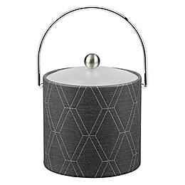 Kraftware™ Stonehenge Midnight 3 qt. Ice Bucket with Acrylic Lid