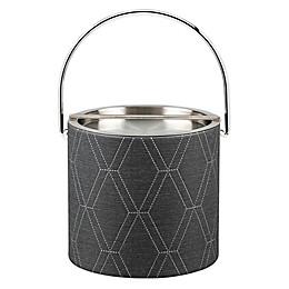 Kraftware™ Stonehenge Midnight 3 qt. Ice Bucket with Metal Lid