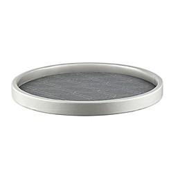 Kraftware™ Stonehenge Midnight 14-Inch Round Serving Tray