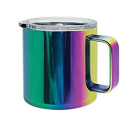Oggi™ Stainless Steel Mug with Lid in Rainbow