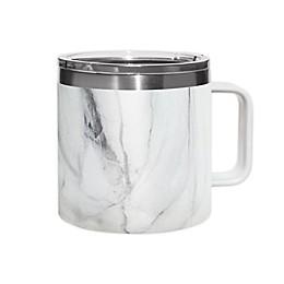Stainless Steel Covered Coffee Mug