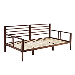 Forest Gate Solid Wood Spindle Daybed in Walnut