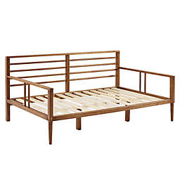 Forest Gate Solid Wood Spindle Daybed in Caramel