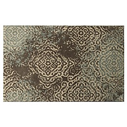 Bacova Cashlon 2'3 x 3'5 Accent Rug in Spa Blue