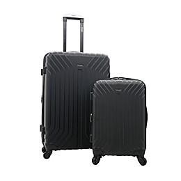 Wrangler Auburn 2-Piece Spinner Luggage Set