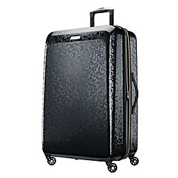 American Tourister® Belle Voyage Hardside Spinner Checked Luggage in Black