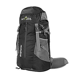 Olympia® USA Explorer 20-Inch Backpack in Black/Grey