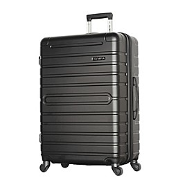 Olympia® USA Lancer 29-Inch Hardside Spinner Checked Luggage in Black