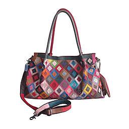 AmeriLeather 19-Inch Willis Leather Handbag