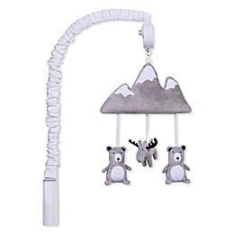 Trend Lab® Forest Mountain Musical Mobile in Grey/White