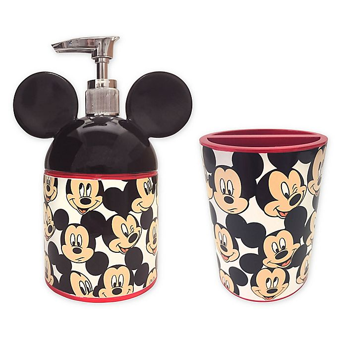 Disney Mickey Mouse Bathroom Accessory Collection Bed Bath Beyond