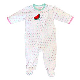 Isaac Mizrahi Drop Watermelon Footie