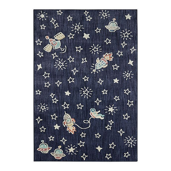 Alternate image 1 for Marmalade™ Bowie 5' x 7' Area Rug in Blue