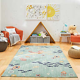 Marmalade™ Eleanor 5' x 7' Area Rug in Aqua