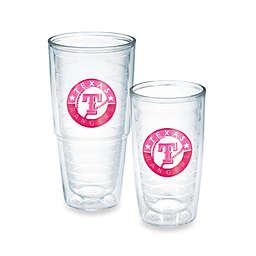 Tervis® MLB Texas Rangers Emblem Tumbler in Neon Pink