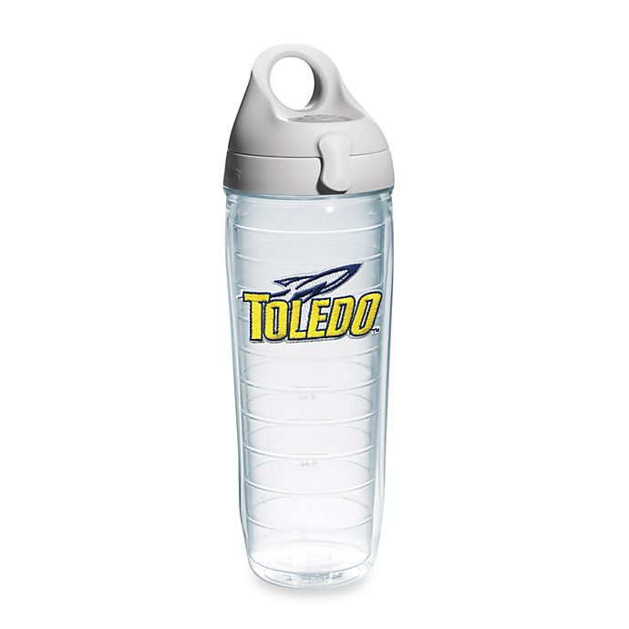 Alternate image 1 for Tervis® University of Toledo Rockets 24-Ounce Emblem Water Bottle with Lid
