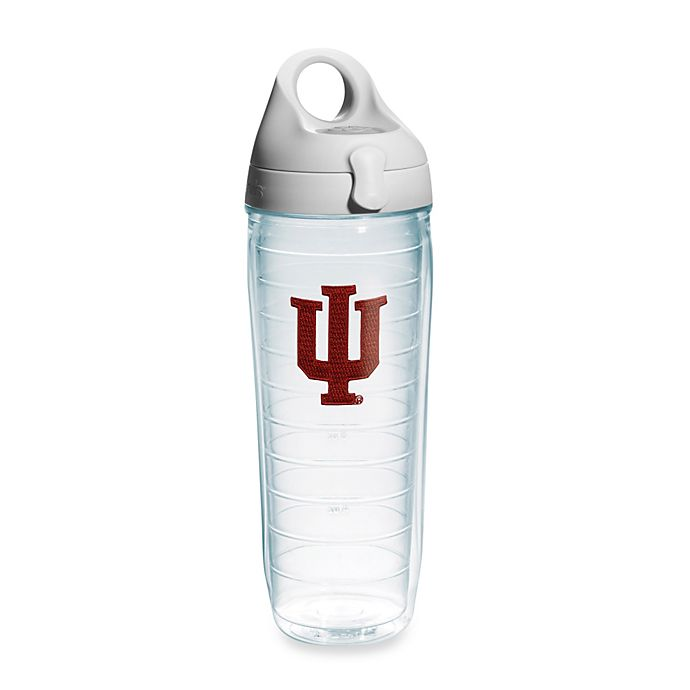 Alternate image 1 for Tervis® Indiana University Hoosiers 24 oz. Emblem Water Bottle with Lid