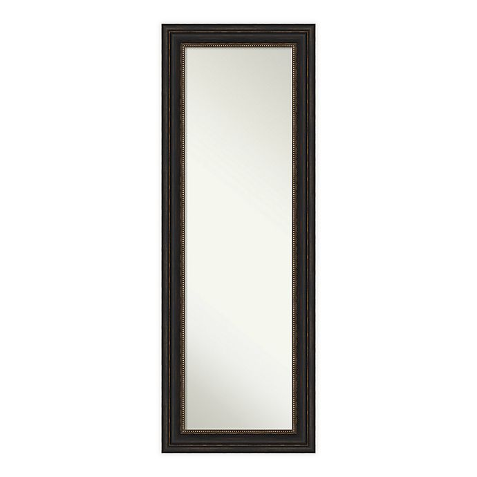 Alternate image 1 for Amanti Art Accent Framed On the Door Mirror in Bronze