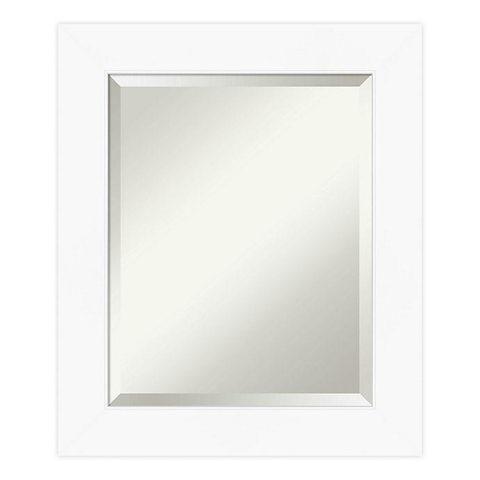 Alternate image 1 for Amanti Art Cabinet Bathroom Vanity Mirror in White