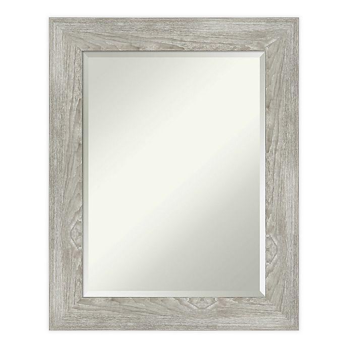 Alternate image 1 for Amanti Art Dove Greywash Bathroom Vanity Mirror in Grey