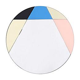 Tinity 31.5-Inch Round Multicolor Wall Mirror