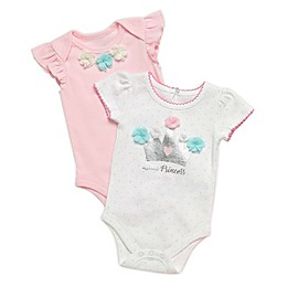 Baby Starters® 2-Pack Bodysuits