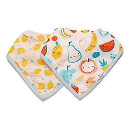 Loulou Lollipop® 2-Pack Cutie Fruit Bandana Bibs