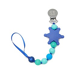 Chewbeads® Fashion Pacifier Clip in Turquoise