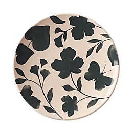 kate spade new york Petal Lane™ Flower Accent Plate in Green